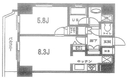 浅草 賃貸 間取4