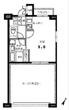 浅草 賃貸 間取7