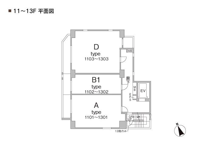 浅草 賃貸 間取8
