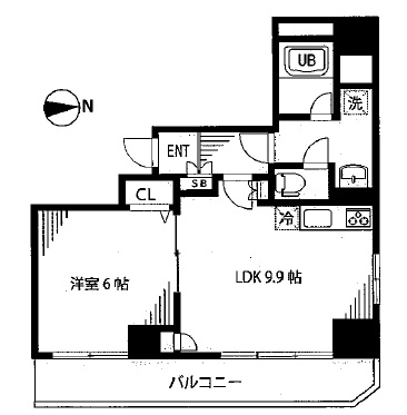 浅草 賃貸 間取6