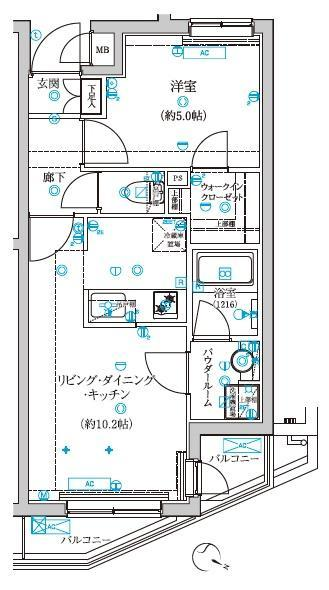 浅草 賃貸 間取9
