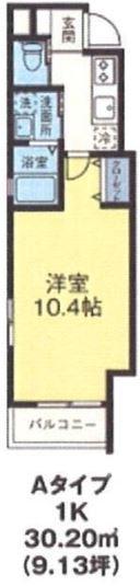浅草 賃貸 間取1