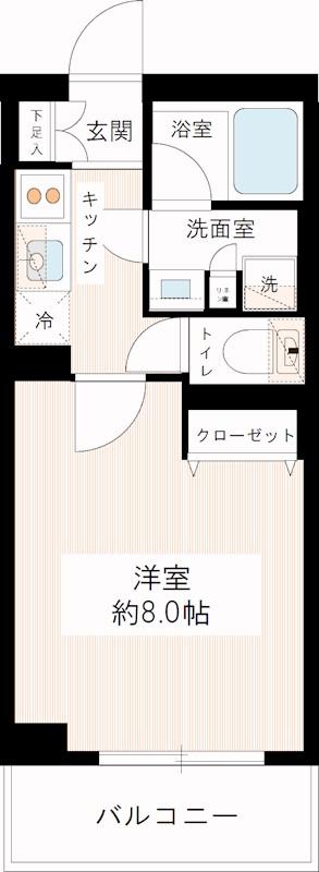 浅草 賃貸 間取3